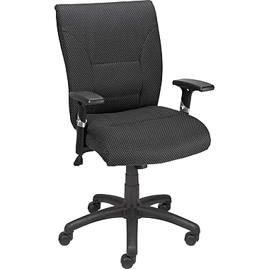Staples Vedia Fabric Task Chair, Black