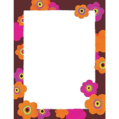 Bright Poppies Stationery