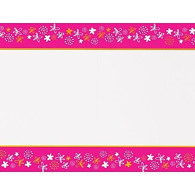 Great Papers® Tiny Fuchsia Floral 2-Up Invitations