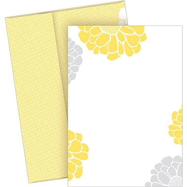 Great Papers® Sunny Flowers Flat Card Invitations with Envelopes