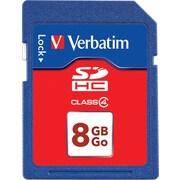 Verbatim SDHC Card Class 4, 8GB