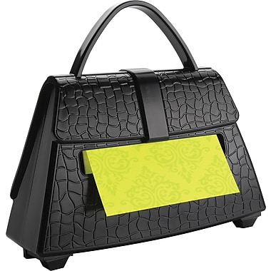 Post-it® Pop-Up Purse Dispenser, Black