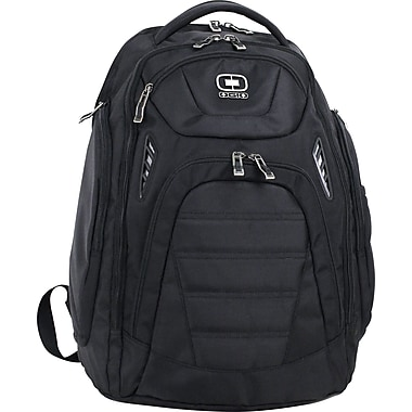 OGIO TP-14, 17in. Computer Backpack,  Double Gusset Top Zip Construction, Black