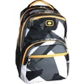 OGIO Adrenaline Driven L-3, 16in. Computer Backpack,  Black/White/Gray/Yellow