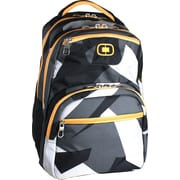 OGIO® Adrenaline Driven L-3, 16 Computer Backpack,  Black/White/Gray/Yellow