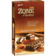 Zone Perfect® Bars, Dark Chocolate Caramel Pecan, 1.58 oz. Bars, 12 Bars/Box