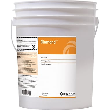 Brighton Professional™ Diamond™ Floor Care Floor Finish 20% Solids, 5 gal.