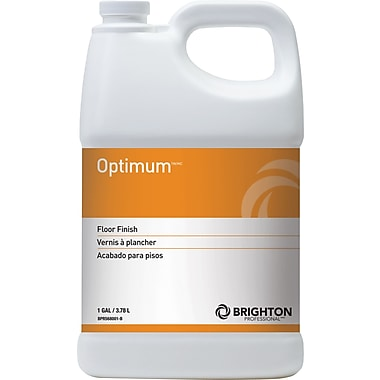Brighton Professional™ Optimum™ Floor Care Floor Finish 19% Solids, 1 gal.
