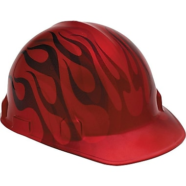 Jackson Safety® Head-Turner™ Safety Helmet, 4 Point Ratchet, Inferno