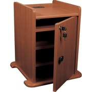 Balt® Presentation Cart Cabinet, Cherry