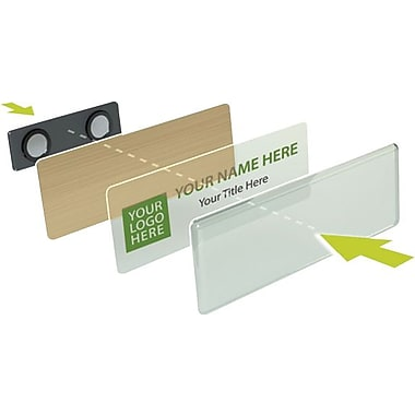 YouWho™ Name Badge Kits, Gold