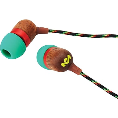 Marley Jammin' In-Ear Stereo Headset, Rasta