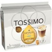 GEVALIA Caramel Macchiato T-Disc Refills, 8/Pack