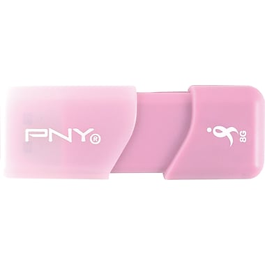 PNY 8GB Susan G. Komen Attache USB 2.0 Flash Drive