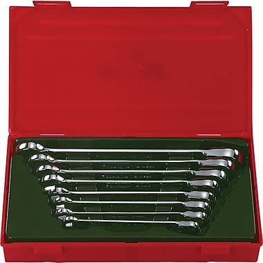 Blackhawk® 8 Pieces Metric Reversible Ratcheting Wrench Set