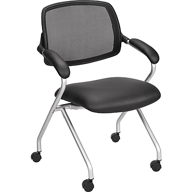 Staples Centeno Mesh/Luxura Guest Chair, Black