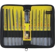 General® Tools 12 Pieces Swiss Pattern Needle File Set, 5-1/2""