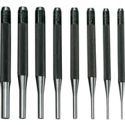 General® Tools 8 Pieces Drive Pin Punch Set, Tool Steel, 1/16 - 5/16""
