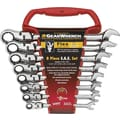 GearWrench® 8 Pieces 12 Point SAE Flexible Combination Ratcheting Wrench Set,  5/16in. - 3/4in.