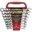 "GearWrench® 8 Pieces 12 Point SAE Flexible Combination Ratcheting Wrench Set,  5/16"" - 3/4"""