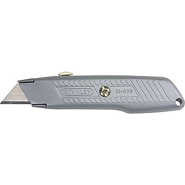 Stanley® Interlock® Retractable Utility knife, Steel, 5-3/8in. Handle