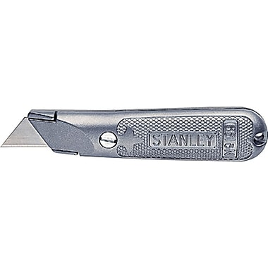 Stanley® Classic 199® Fixed Blade Utility knife, Steel, 5-1/2in. Handle
