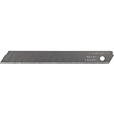 Stanley® Quick Point Replacement 8 Section Knife Blade, Steel, 4-1/4in.