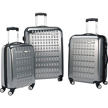 Samsonite Gravtec, 24in. Hardside Spinner Luggage, Silver