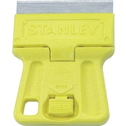 "Stanley® High Visibility Mini-Razor Blade Scraper, 1 1/2"" Size, High Carbon Steel, 1 13/16"", 12/Pack"