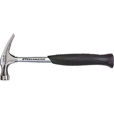 Stanley® SteelMaster™ Curve Claw Smooth Face Hammer, 1-5/32in. Face, High Carbon Steel, 16 oz.