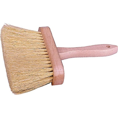 Weiler® 4 Row Masonry Scrub Brush, 3 1/2in.Bristle, 6 1/2in., White Tampico