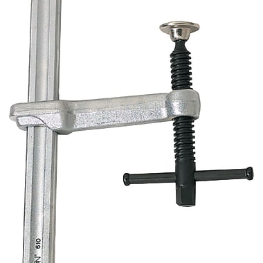 Wilton® Tools Economy Series Bar Special Duty L-Clamp, 10in.Nominal Opening, 4-3/4in. Throat Depth