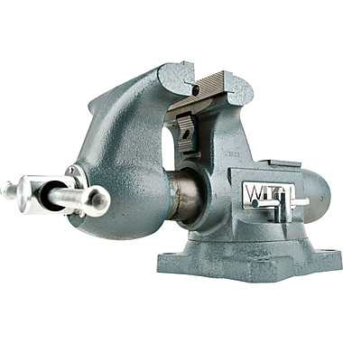 Wilton® Tools Tradesman Vise, 6 1/2in. Max Opening, 360° Swivel, 1/4 - 3 1/2in.