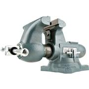 "Wilton® Tools Tradesman Vise, 6 1/2"" Max Opening, 360° Swivel, 1/4 - 3 1/2"""