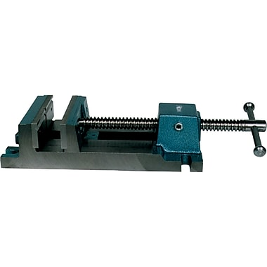 Wilton® Heavy duty Rapid Acting Nut Verstile Drill Press Vise, Max Opening, Stationary, 6-3/4in.