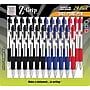 Zebra® Z-Grip® Retractable Ballpoint Pen, Medium Point, Assorted,