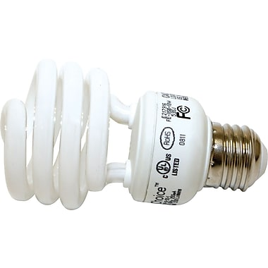 18 Watt VChoice T2 Spiral CFL Bulbs, Bright White