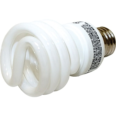 19 Watt VChoice T2 CFL Bulbs, Warm White, 6/Pack