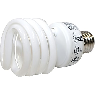 23 Watt VChoice T2 Spiral CFL Bulbs, Bright White, 6/Pack