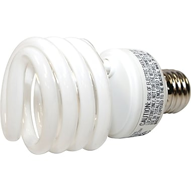 23 Watt VChoice T2 Spiral CFL Bulbs, Warm White, 48/Pack