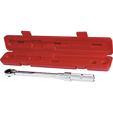 Proto® Ball Locking Pear Head Ratchet Head Micrometer Torque Wrench, 15-1/2in., 16 - 80 ft-lbs.