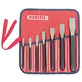 Proto® 7 Pieces Cold Chisel Set, Alloy Steel, 5/8 - 1/2in.