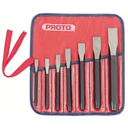 Proto® 5 Pieces Cold Chisel Set, Alloy Steel, 5/8 - 1/2""