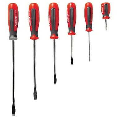 Proto® 6 Pieces Standard Tip Round Shank Screwdriver Set