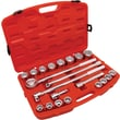Cooper Hand Tools Crescent® 21 Pieces Standard Mechanics Tool Set, 3/4in.