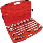Cooper Hand Tools Crescent® 21 Pieces Standard Mechanics Tool Set, 3/4""
