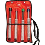 """Cooper Hand Tools Nicholson® 4 Pieces Double Ended Thread Restoring File Set, 8-3/8"""""""