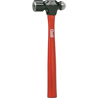Cooper Hand Tools Plumb® Ball Pein Hammer, 24 oz, 15in., Forged Steel