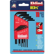 Eklind® Tool Hex-L® 13 Pieces Long Arm Hex Key Set, 0.050 - 3/8""