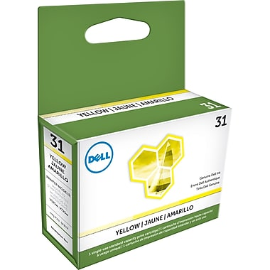 Dell Series 31 Yellow Ink Cartridge, (3MH11)